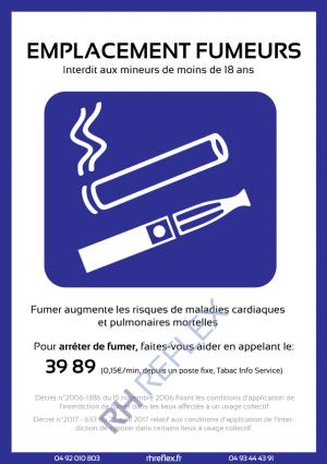 Emplacement-fumeurs