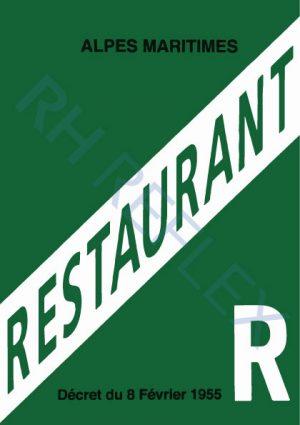 Licence-RESTAURANT-R